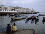 Fishing Port in Al Mukalla, the Largest Port on the Indian Ocean Photographic Print by Michael S. Yamashita