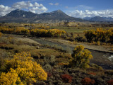 Fall Colors Near Durango, Colorado Fotografisk trykk av Lynn Johnson
