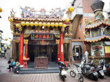 Daoist Temple in a Residential Neighborhood in Taipei Photographic Print by  xPacifica