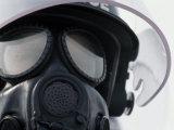 Testing a Gas Mask Against Bacterial Warfare Photographic Print by Lynn Johnson