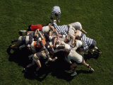 Rugby Scrimmage Photographic Print by Lynn Johnson