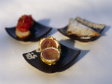 Coated Grape Appetizer Is Served at a Japanese Restaurant Photographic Print by  xPacifica