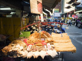 Food Stall Selling Dried Seafood Photographic Print by  xPacifica
