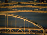 Pittsburgh's Bridges over the Allegheny River Fotografisk trykk av Lynn Johnson