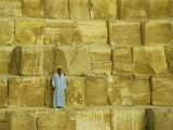 Stone Building Blocks of the Great Pyramid Photographic Print by Martin Gray
