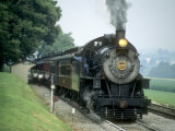 Strasburg Railroad 4-8-0 475 at Cherry Hill, Pennsylvaina Photographie par Kent Kobersteen