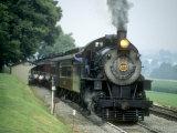Strasburg Railroad 4-8-0 No.475 at Cherry Hill, Pennsylvaina Photographic Print by Kent Kobersteen