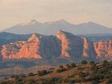 Sacred Kachina Peak and the Red Rocks Photographic Print by Martin Gray