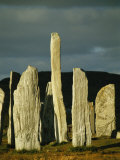 Standing Stones of Callanish at Sunset Photographic Print by Martin Gray