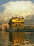 16th Century Golden Temple at Amritsar Photographic Print by Martin Gray