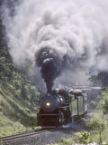 Ex-Southern Railway 2-8-2 4501 on a Steam Fan Trip Photographie par Kent Kobersteen