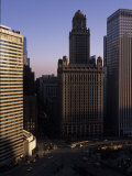 Jewelers Building in Downtown Chicago Photographic Print by Paul Damien