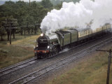 """London and North Eastern Railway 4-6-2 No.4472, The """"Flying Scotsman"""" Photographic Print by Kent Kobersteen"""