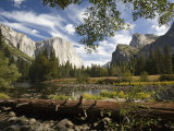 El Capitan Rises Above the Merced River Photographic Print by Richard Nowitz