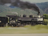 Ex-Denver and Rio Grande Western Narrow-Gauge 2-8-2 No.478, Speeding By Photographic Print by Kent Kobersteen