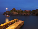 Scenic Evening View of Polperro Photographic Print by Jim Richardson