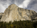 Low Angle View of El Capitan Photographic Print by Richard Nowitz