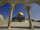 Dome of the Rock and its Courtyard Photographic Print by Martin Gray