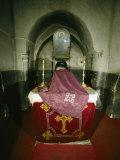 Coptic Monastery of Deir Al-Muharraq, Chapel of Mary Photographic Print by Martin Gray