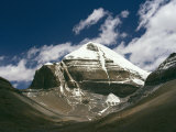 Mount Kailas Sacred Pilgrimage Site for Both Buddhists and Hindus Photographic Print by Martin Gray