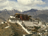 Potala Palace Photographic Print by Martin Gray