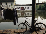 Village Along the Grand Canal Outside of Hangzhou Photographic Print by Michael S. Yamashita