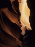Antelope Canyon with Light Shining Down into It Photographic Print by David Edwards