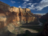 Colorado River, over Time Carving a Path Through Marble Canyon Photographic Print by Michael Nichols