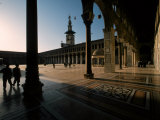 Courtyard of the Great Umayyad Mosque Photographic Print by Martin Gray