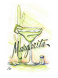 Drink up...Margarita Giclee Print by Jay Throckmorton