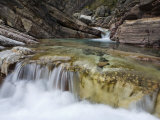 Waterfall at Bathtub Creek in the Muskwa-Kechika Management Area Photographic Print by Michael Brown