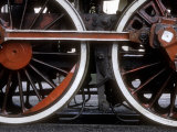 Driving Wheels of Polish National Railways Locomotive Ol49-111 Photographic Print by Kent Kobersteen