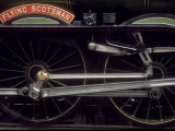 Wheels and Rods of London and North Eastern Railway &quot;Flying Scotsman&quot; Photographic Print by Kent Kobersteen