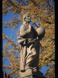 Statue of Christ Photographic Print by Martin Gray