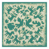Folk Story in Jade Posters by Chariklia Zarris