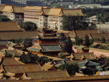 Roofscape of the Forbidden City Photographic Print by Michael S. Yamashita