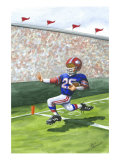 Touchdown Premium Giclee Print by Jay Throckmorton