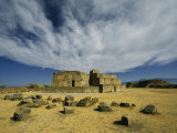 Mound J Astronomical Observatory, Monte Alban, Oaxaca Photographic Print by Martin Gray