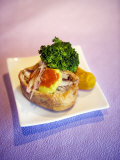 Small Open-Faced Dumpling Appetizer Photographic Print by  xPacifica