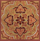 Persian Tiles II Prints by Paula Scaletta