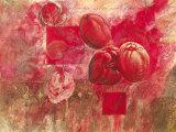 Fleurs d'Automnel Prints by Yvonne Dulac