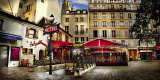 Metro Saint-Michel, Paris Print by Stephane Rey-Gorrrez