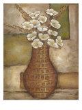 Cubed Floral Study II Premium Giclee Print by Chariklia Zarris