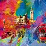 Londres Posters par Robert Holzach