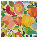 Anemone Garden Posters by Kim Parker