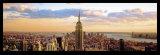 Manhattan Afternoon Affiches par Steven Linder