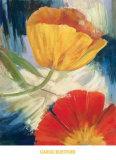 Summer Tulips III Print by Carol Buettner