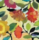 Floral Tile I Kunstdrucke von Kim Parker