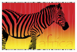 Zebra Dawn Art by Susann & Frank Parker