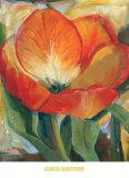 Summer Tulips I Poster by Carol Buettner